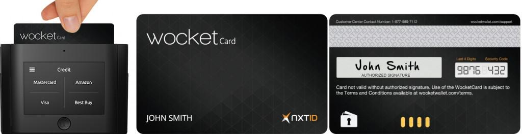 WocketCard การ์ดสำหรับเครื่อง Wocket ที่สามารถถูกพิมพ์ให้เป็นบัตรเครดิตหรือบัตรเอทีเอ็มใดก็ได้ (ที่มาของภาพ: http://investorshub.advfn.com/)